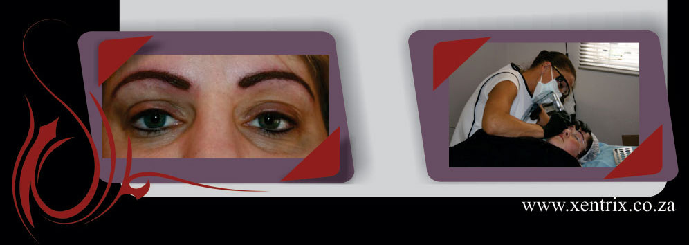 Professional permanent make-up services